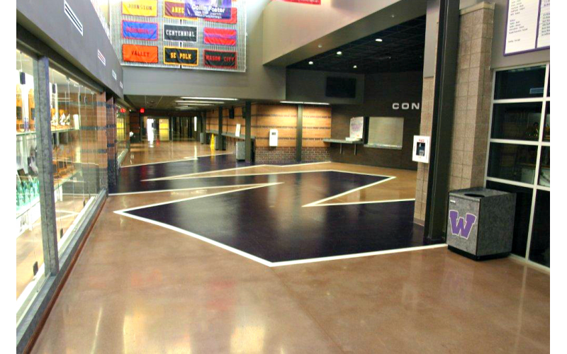 Skold Floor Coatings For The Waukee High School